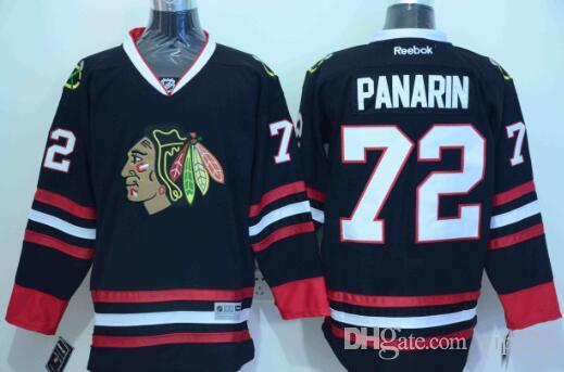 3e6815ac794 2019 Alex DeBrincat NHL Hockey Jerseys Duncan Keith Custom Authentic ...