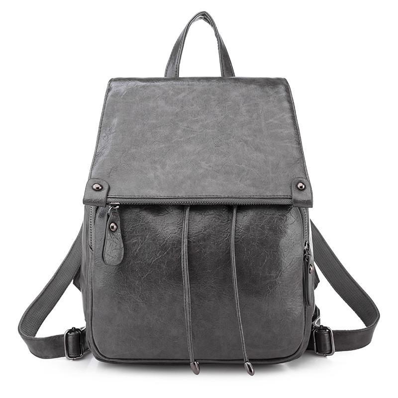 2019 New PU Leather Backpack Style Purse for Women Elegant Ladies ... 4c33fbc0fbc26