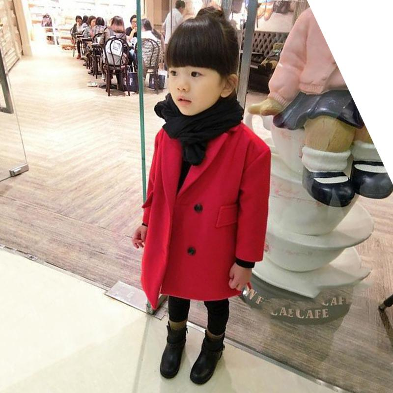10b88931339f Children S Clothing 2019 Autumn Female Child Baby Trench Outerwear ...