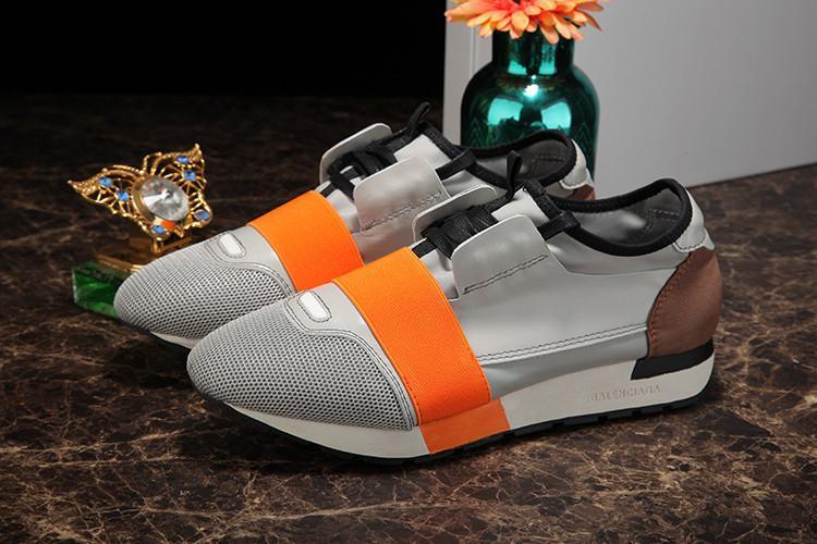 70b8cdc43750b Acheter Chaussures De Sport À Talon Plat De Luxe Pour Le Son Et Pour Femme  Balanciaga 2019 En Daim Noir Avec Des Baskets Rouges De $62.02 Du  Casualshoes0016 ...
