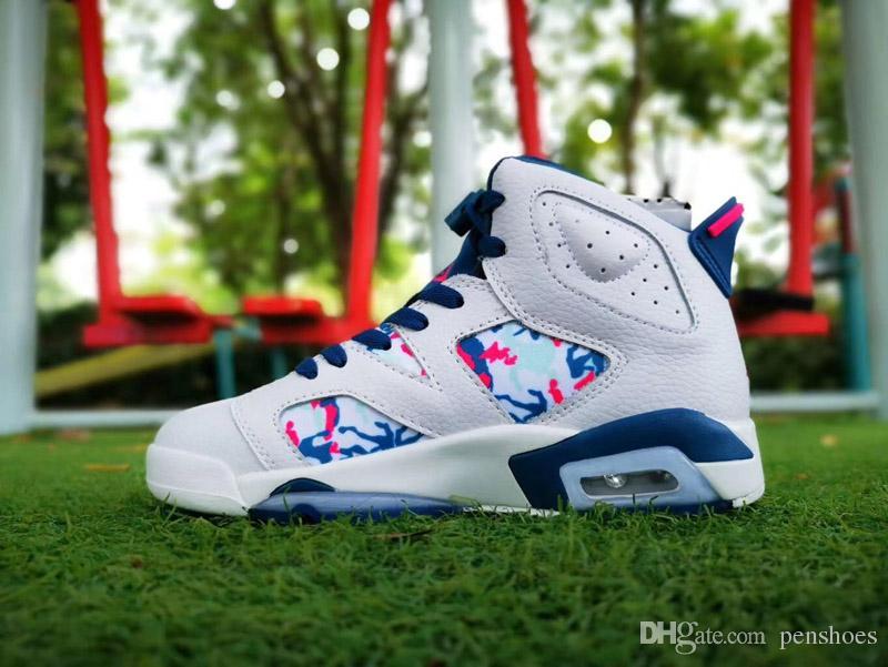 Envío gratis 6 GS Green Abyss zapatos de baloncesto de calidad superior 6 s mujeres baloncesto zapatillas de deporte atlético zapatos con caja 36-40