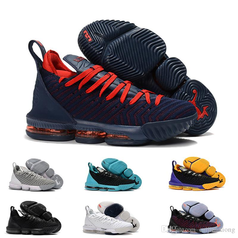 new products 59677 0bd70 2019 2019 New 16 16s Basketball Shoes Promise King 1 Thru 5 Oreo Fresh Bred  Triple Black Trainers Sports Mens Shoe Size 40 46 From Caijianxiong, ...