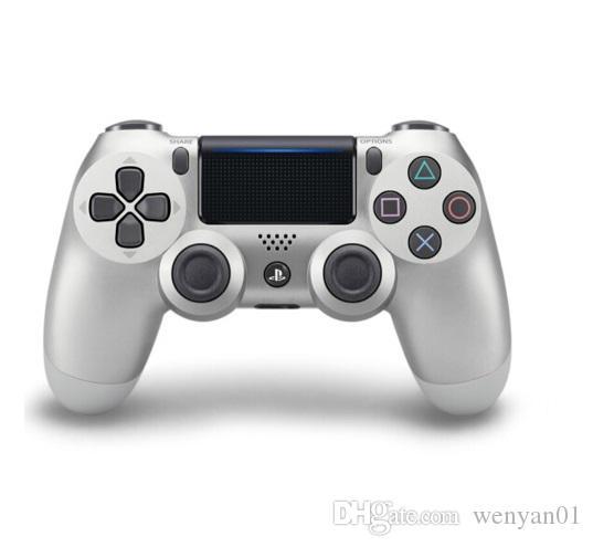 Manette de jeu Bluetooth sans fil pour manette de jeu PS4 Manette de jeu pour Android Jeux vidéo avec boîte de vente au détail