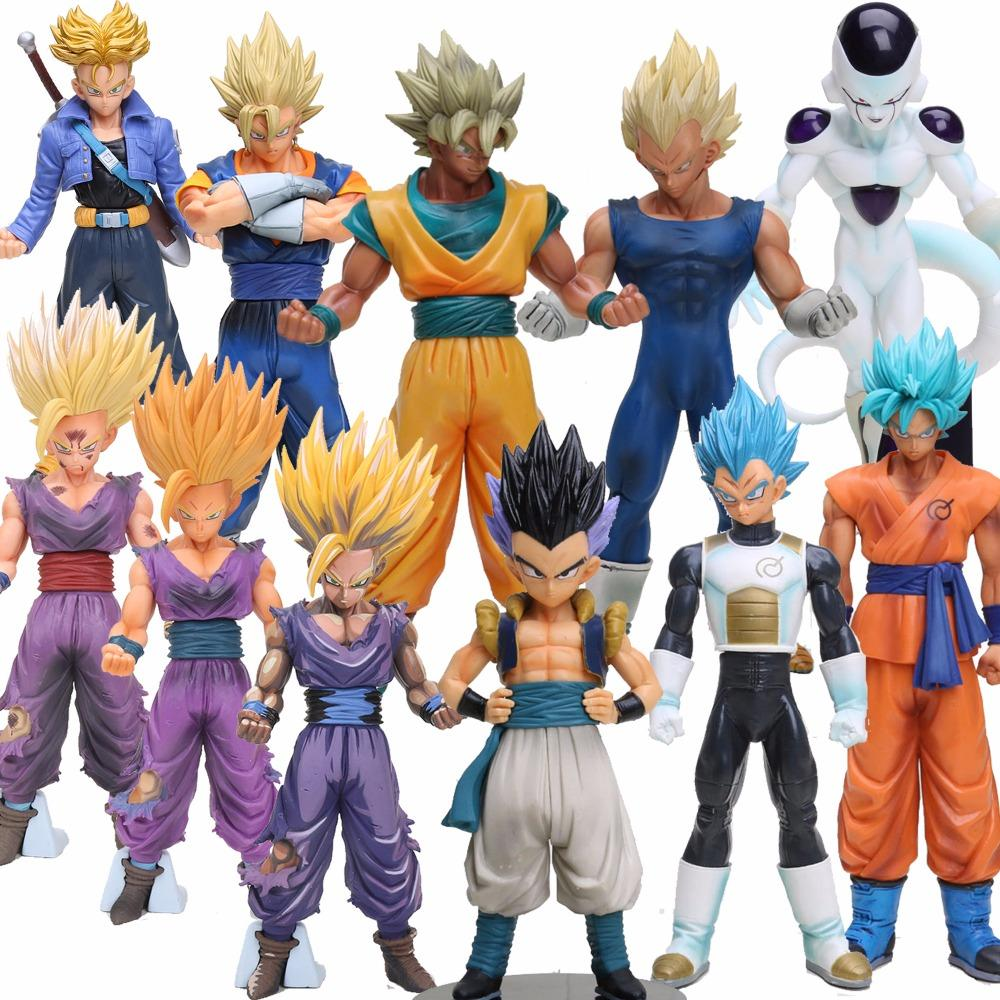 19 30 Cm Dragon Ball Z Super Saiyan Vegeta Sohn Goku Freeza Trunks Vegetto Gotenks Pvc Action Figure Sammlung Modell Spielzeug 11 Stile
