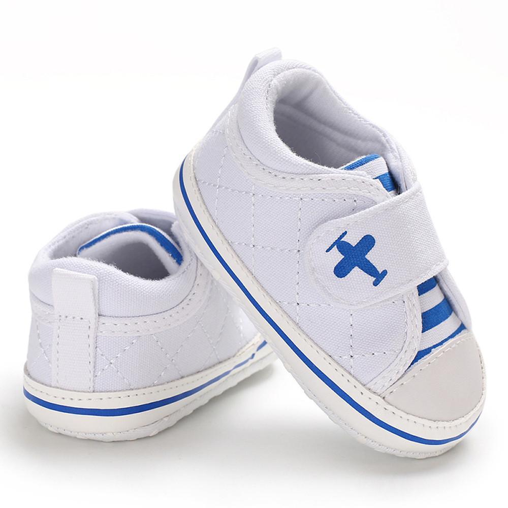 f8cfff52 Compre Buena Calidad Zapatos De Bebé Zapatos De Lona Zapatilla De Deporte  Antideslizante Magia Sticker Study Step Suela Suave Toddler Chaussure  Enfant ...