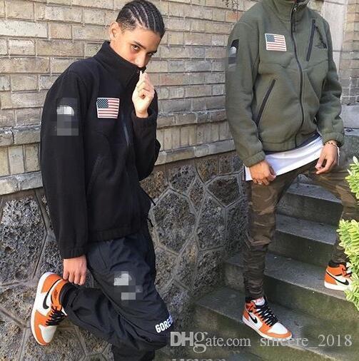 ebe91ce80522 2019 весна / осень новые женские мужские флисовые куртки пальто высокого  качества ...