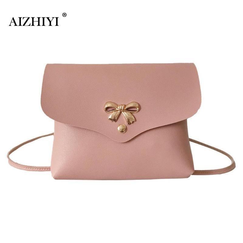 d4e3372273 Cheap Women Bow Knot Shoulder Messenger Bag Girls Mini PU Leather Casual  Crossbody Sling Bags Portable Female Bag Bolsa Feminina Leather Purses  Cheap ...