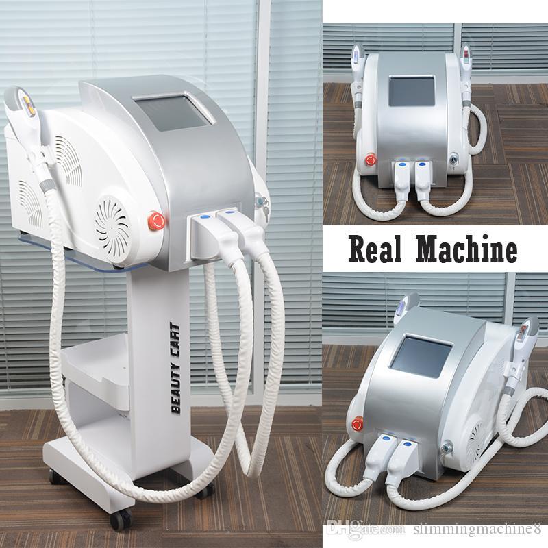 Beste IPL-Haarentfernungsmaschine CE-Hautverjüngung IPL 7-Filter IPL-Pigmentierungs-Entfernungsmaschine 600000Shots Freies Verschiffen