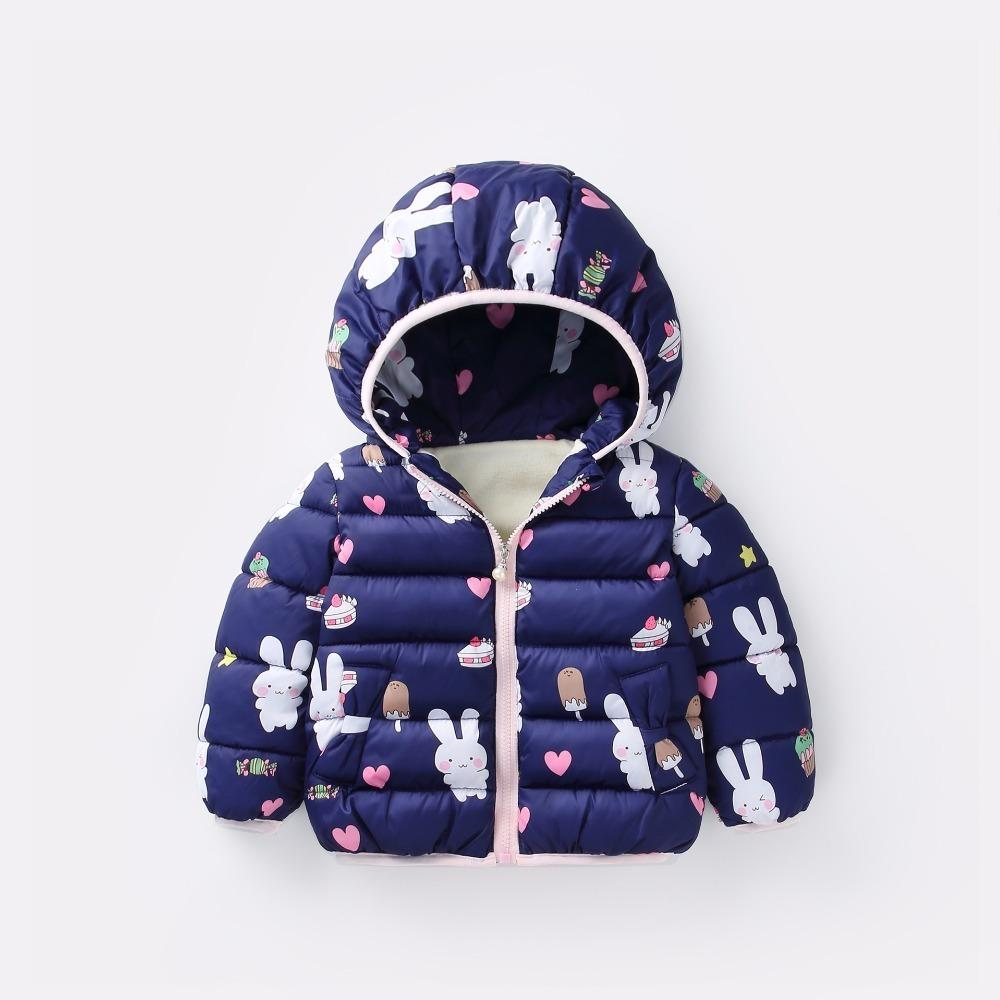 7ff16f723 Good Quality Girls Outerwear Winter Thick Cartoon Hoodies Coats For ...
