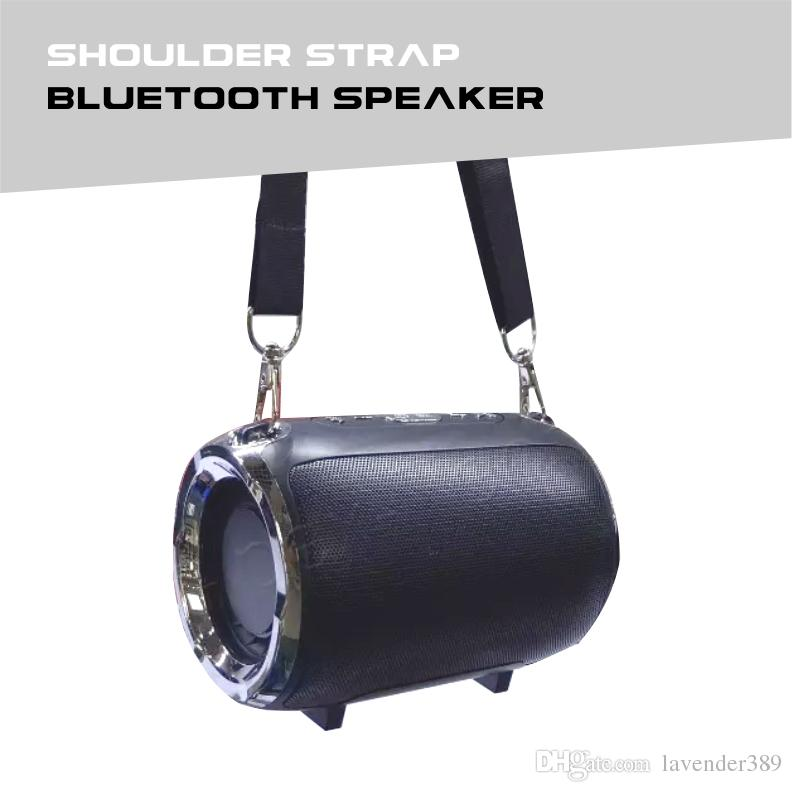 Mini Portable Bluetooth Speaker Shoulder Strap Wireless Speakers Support USB AUX TF Card mp3 Player For Samsung iphone xiaomi