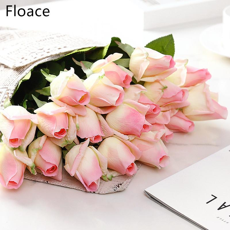 Other Mobility & Disability Home Decorations For Wedding Party Or Birthday Always Buy Good 3 Heads Latex Rose Small Buds Artificial Flowers Real Touch Rose Flowers