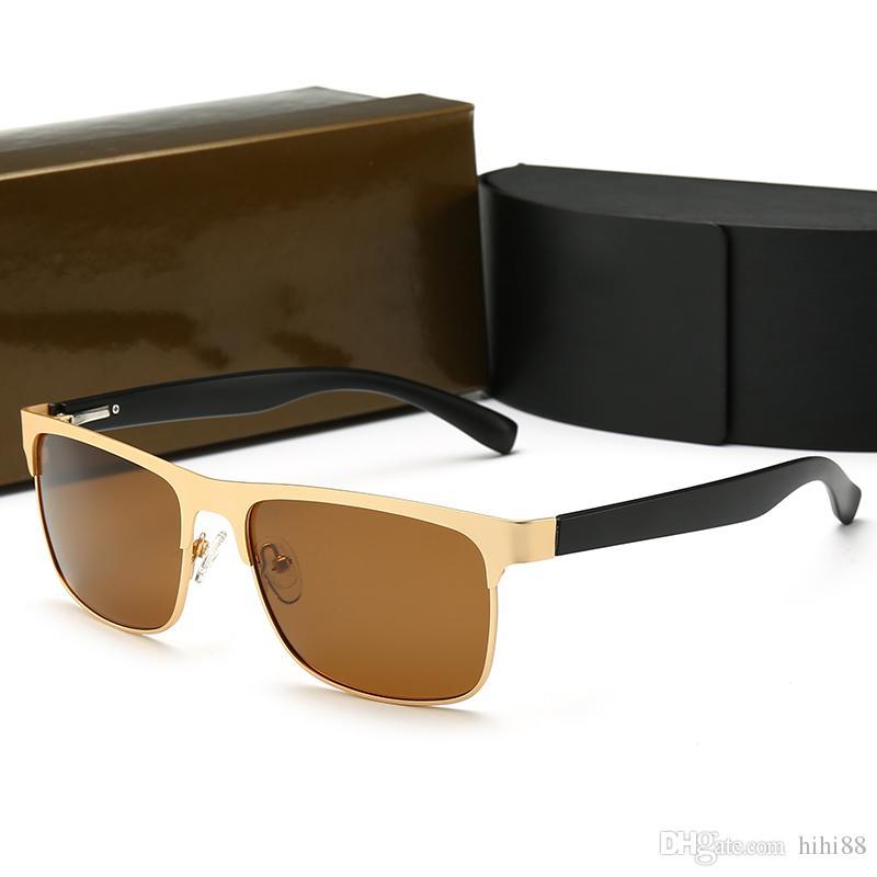 9ee10f6d1b Compre BMW 011 Nuevo Diseñador De Lujo Gafas De Sol Moda Sencillo ...