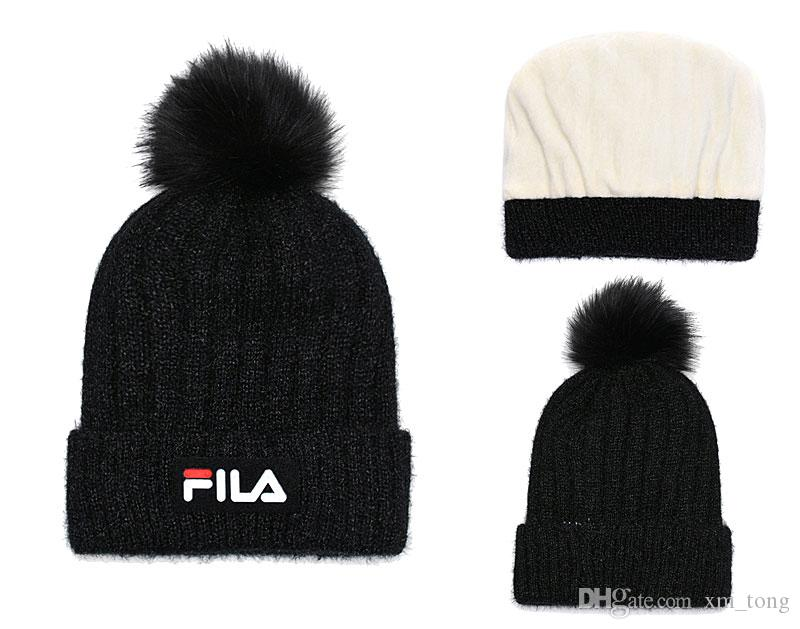 3d0b1bfe3c9 2019 Winter Cotton Caps Wholesale Sport Beanie Knitted Caps Hip Hop Casual  Beanies Skull Hats Men Women High Quality Gorros Hat Beanie Cap Watch Cap  From ...
