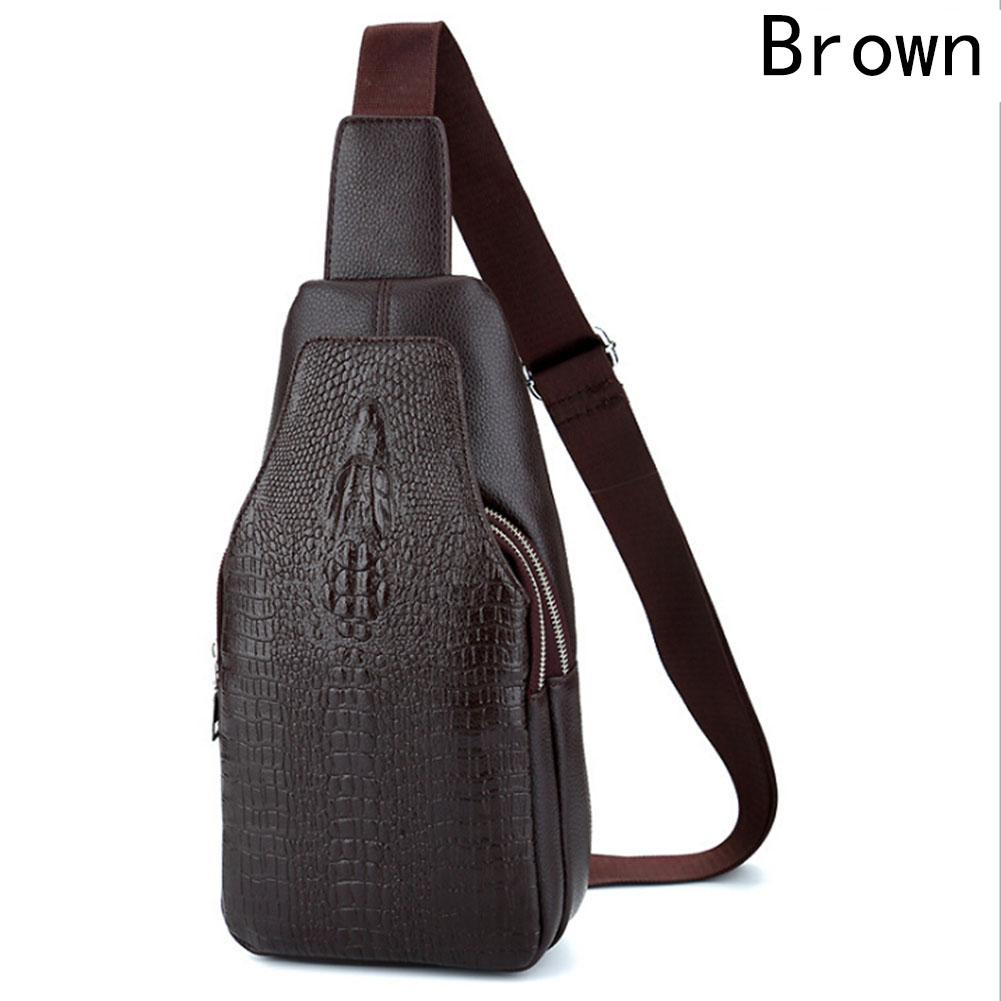 684619212eee New Top Quality PU Leather Male Shoulder Messenger Bag Travel Trend ...