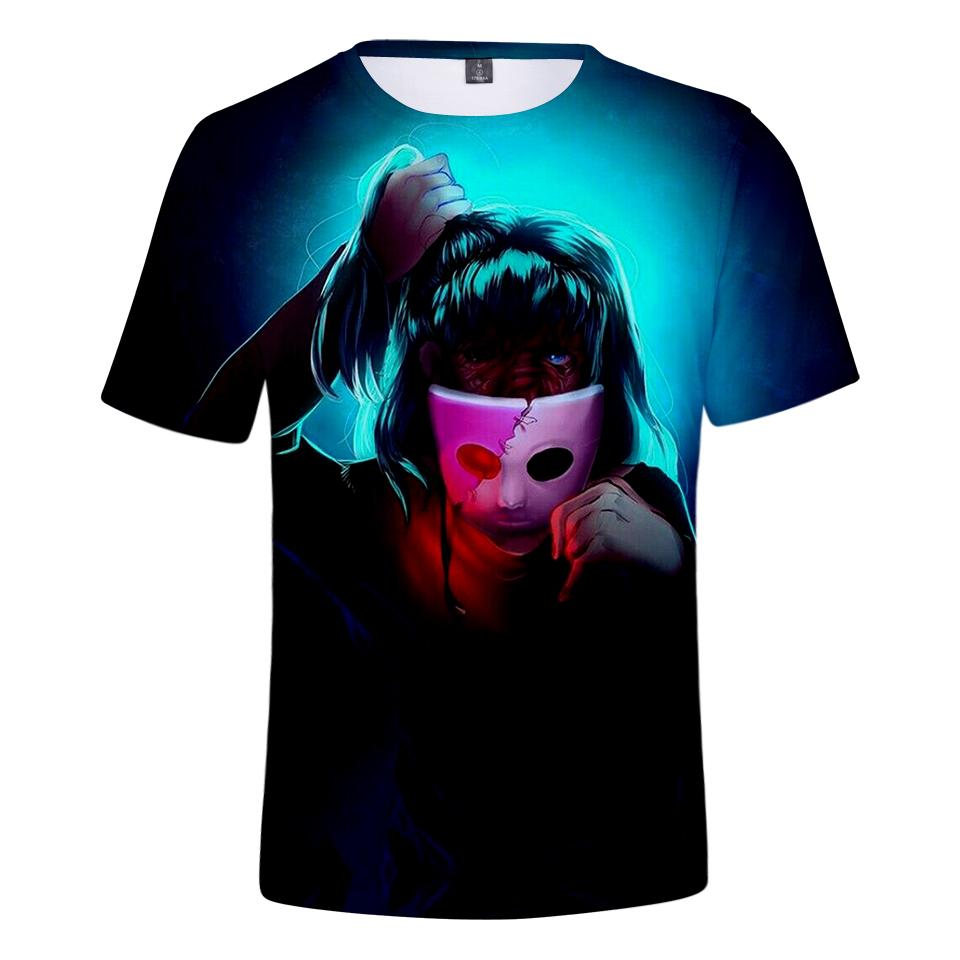 ... Face T Shirt Men Summer 3D Tshirts Women Short Sleeve Tees Men Game  Print Sally Face 3D T Shirt Clothes Plus Size Long Sleeve Tee Shirts Design  Your Own ... 09815573c