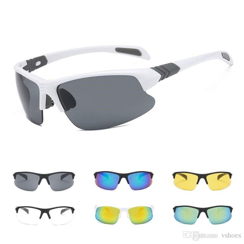 c2c9e026e222b Compre UV400 HD Lens Homens Óculos De Sol Das Mulheres Óculos De Condução  Óculos De Ciclismo Óculos De Sol Tour De France Corrida Óculos Oculos  Ciclismo ...