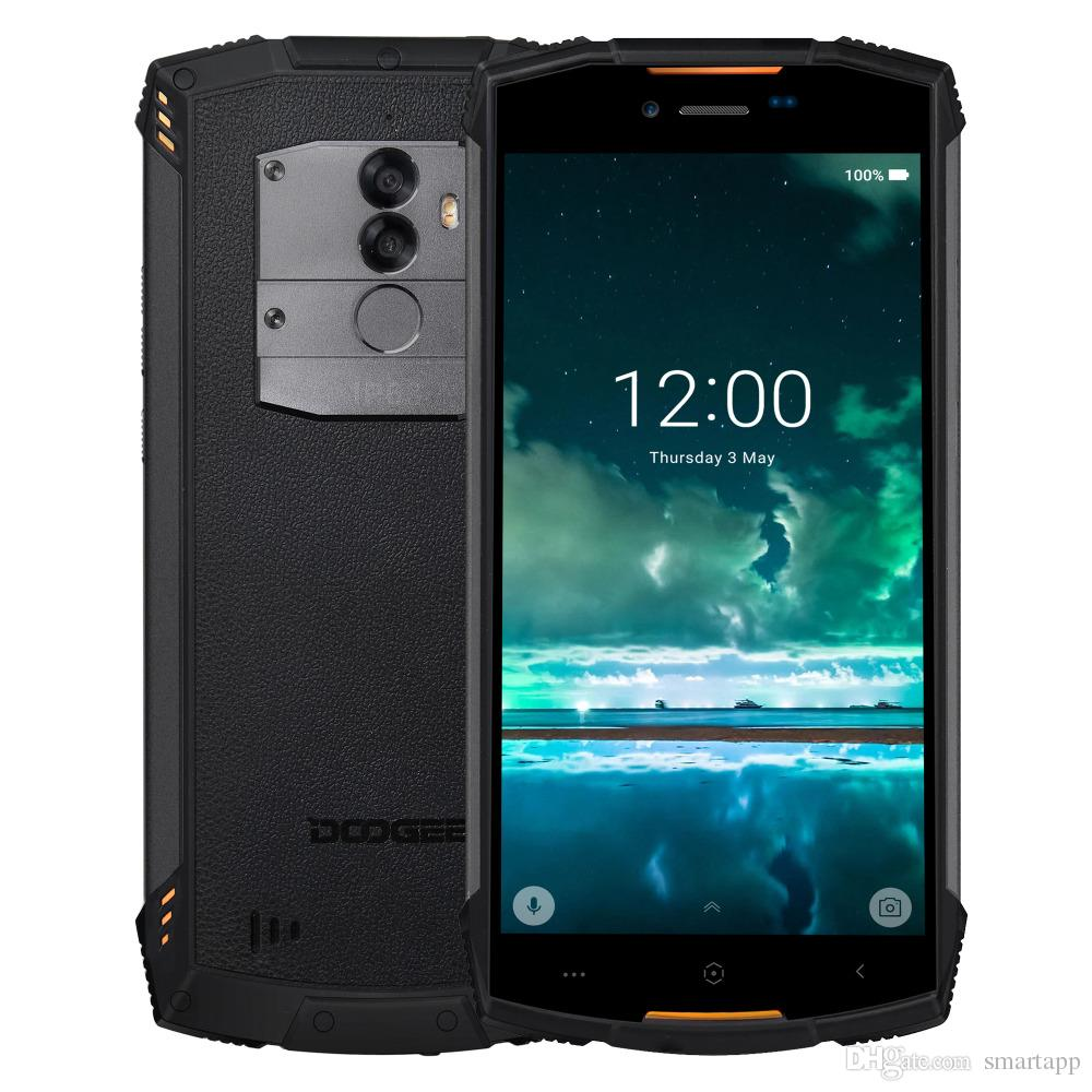 big sale a7927 b4f41 DOOGEE S55 Lite waterproof IP68 Smartphones 2GB RAM 16GB ROM Android 8.1  MTK6739 Dual SIM Dual 4G LTE Cell phones