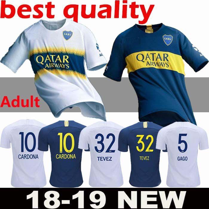 2018 BOCA JUNIORS Camisetas De Fútbol 6 CONMEBOL GOLD CUP TEVEZ Jersey Azul  Blanco MARADONA GAGO CARDONA CAMISA CAMISA Camisetas De Fútbol De Camisas  Por ... 71d4519f72548