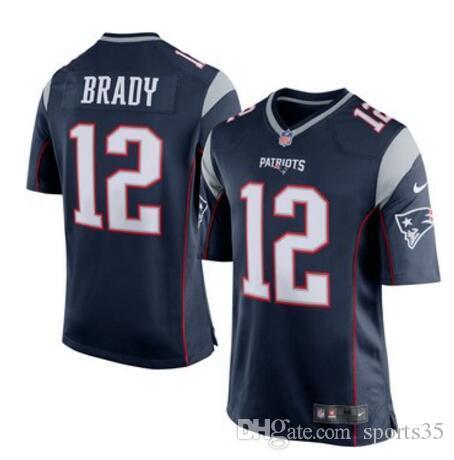 bca659974 2019 Patriots Tom Brady Jersey Rob Gronkowski Julian Edelman Vapor  Untouchable New England Custom American Football Jerseys Factory Rugby 4xl  From Dh119