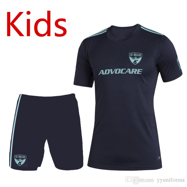 sneakers for cheap eb6c8 534ef 2019 2020 MLS FC Dallas kids Parley kits Soccer sets Football Shirt 2019 FC  Dallas child Parley jerseys shorts kit youth Soccer jerseys