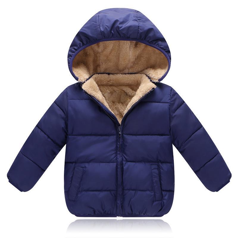 83a350d99b3 2019 New Children Outerwear Coat Winter Boys Girls Leisure Sport Jackets  Infant Warm Baby Parkas Thicken Kids Hooded Clothes