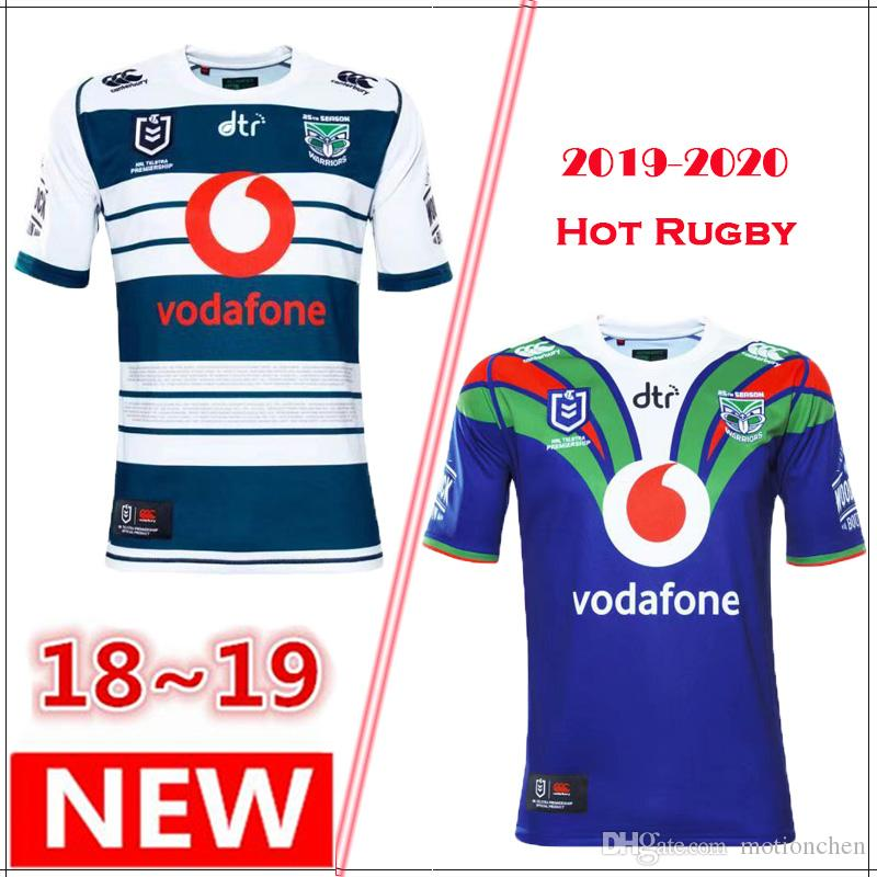 NEW 2018 2019 Auckland Warriors Rugby Jerseys 2019-2020 Top Quality ... 14be0e900