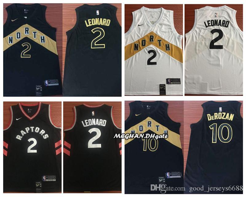 a84f5f994a1 Newest 2019 Toronto Raptors Basketball Jersey 2 Kawhi Leonard 10 ...