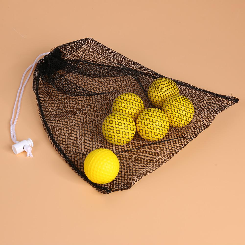 High Quality Golf Mesh Bag Nylon Mesh Bag With Draw string Can Hold 40 Golf Storing Balls Accessoriers 280 X 235 X 3MM