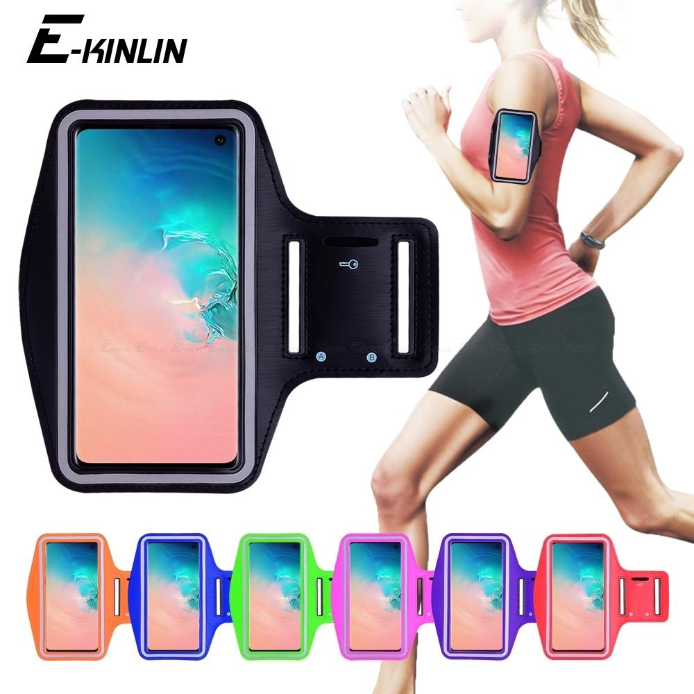 a94847312 2019 Running Cycling Sport Phone Holder Bag Cover For Samsung Galaxy S7 S6  Edge S8 S9 S10e S10 Plus Active Note 5 8 9 Arm Band Case C19041301 From  Shen8402, ...