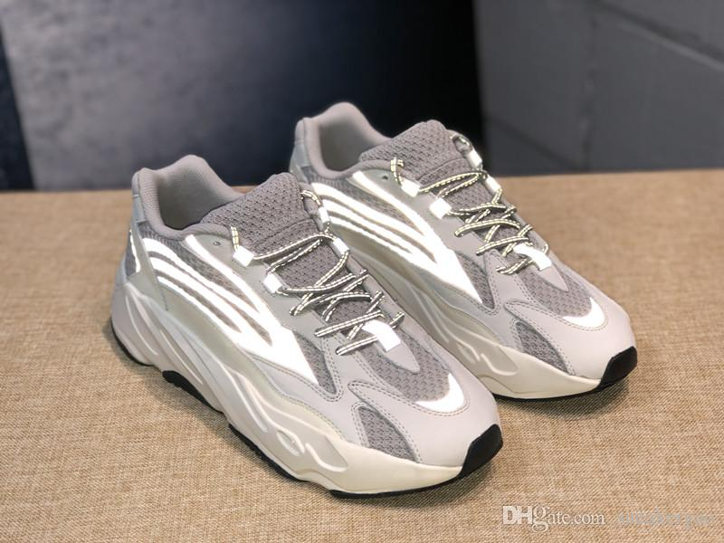 525b3b92db95 All New Wave Runner 700 2.0 Mauve Kanye West Sneakers 3M Material Men Women  Running Shoes Sport With Box Size 36 46 Trail Running Shoes Womens Running  Shoes ...