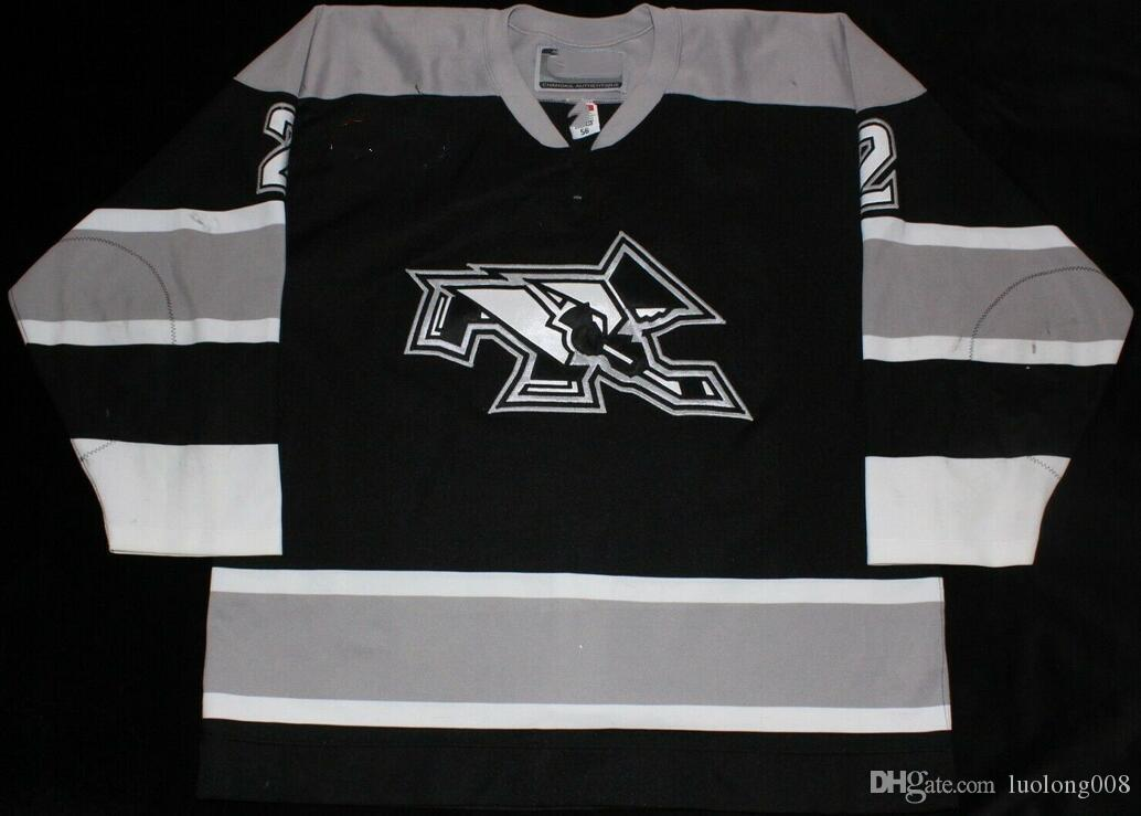 separation shoes a0416 aff9c Rare Vintage PROVIDENCE FRIARS Hockey Jersey Embroidery Stitched Customize  any number and name Jerseys