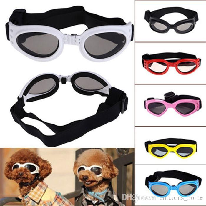 Dog Sunglasses Cute Mini Fashion Sun Glasses Pet Goggles Eye Wear Puppy Eye Protection hot CNY1605