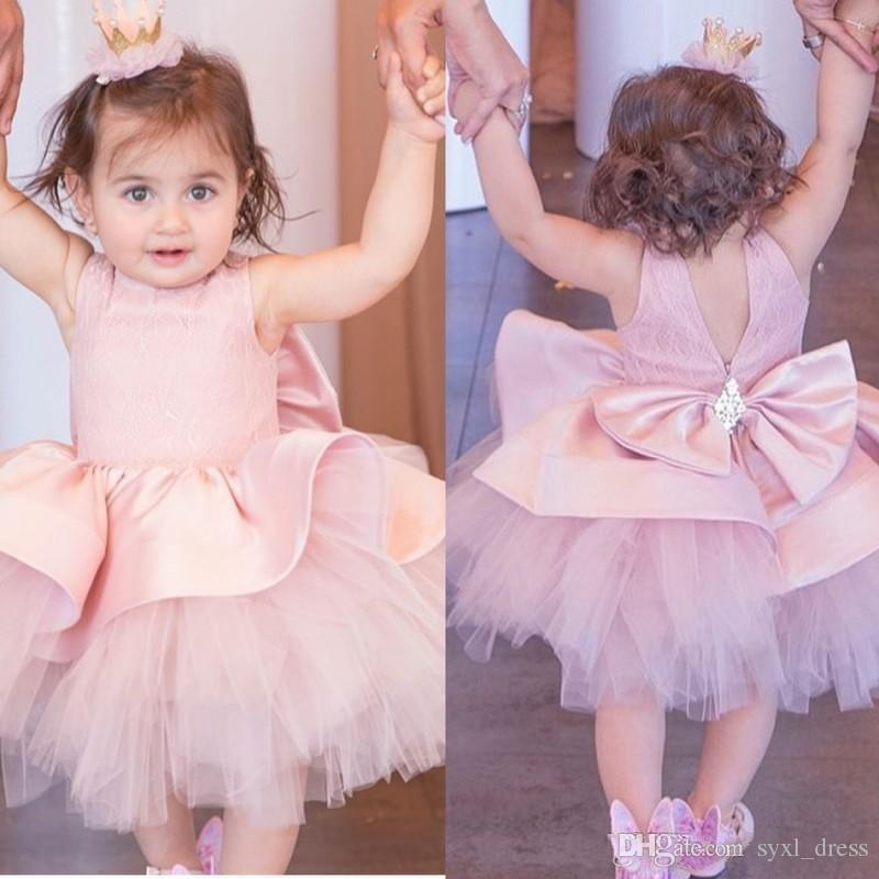 46c077c47 2019 Lovely Little Girls Pageant Special Occasion Dresses For ...