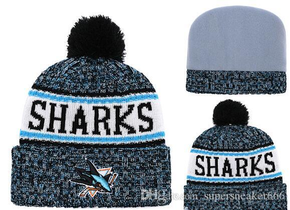 premium selection a0aec 6f4b4 2019 SAN JOSE SHARKS Hat Ice Hockey Knit Beanies Embroidery Adjustable Hat  Embroidered Snapback Caps Sport Knit Hat From Supersneaker666,  5.33    DHgate.Com