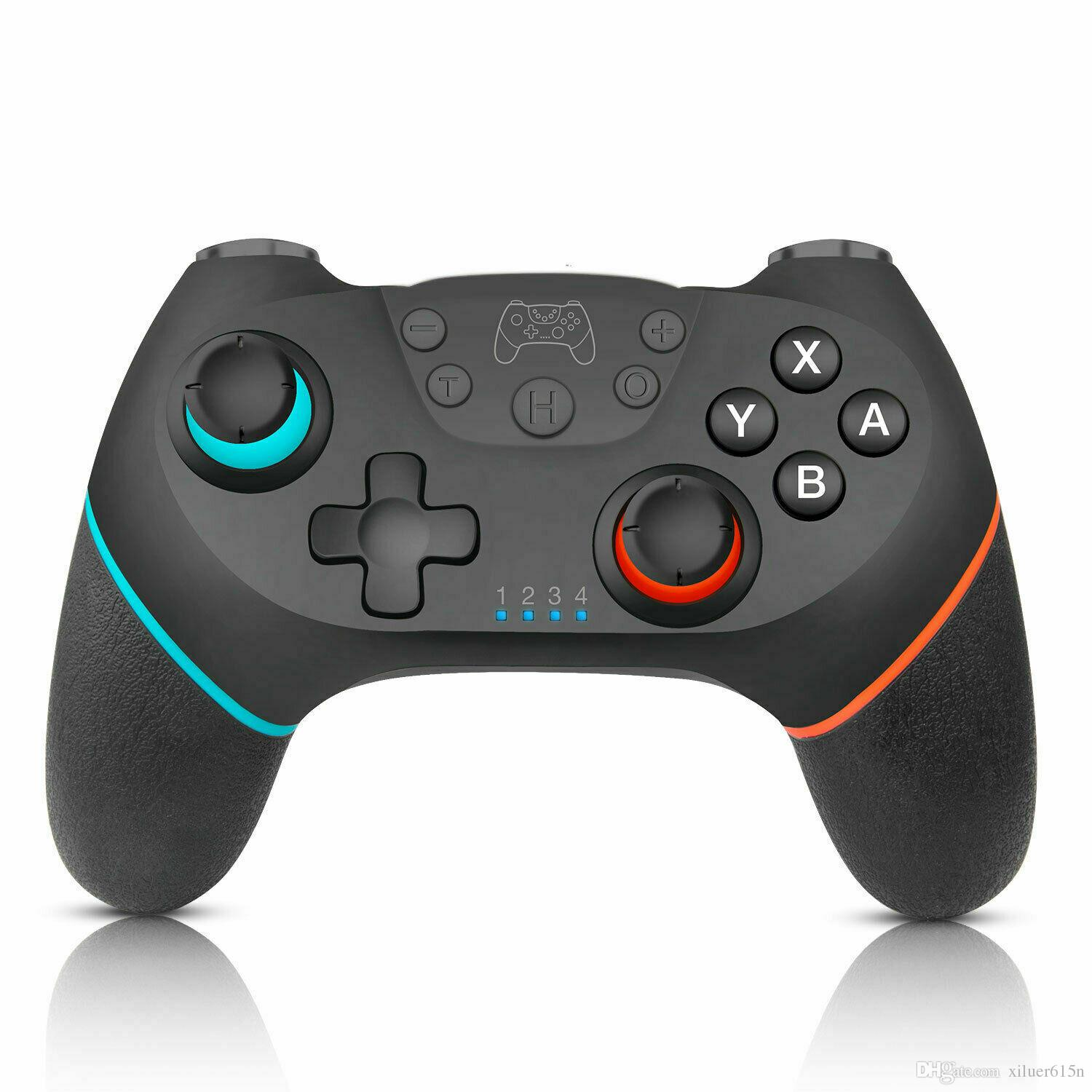 Bluetooth Wireless Pro Controller Griff Gaming Pad Joystick für Nintendo Switch