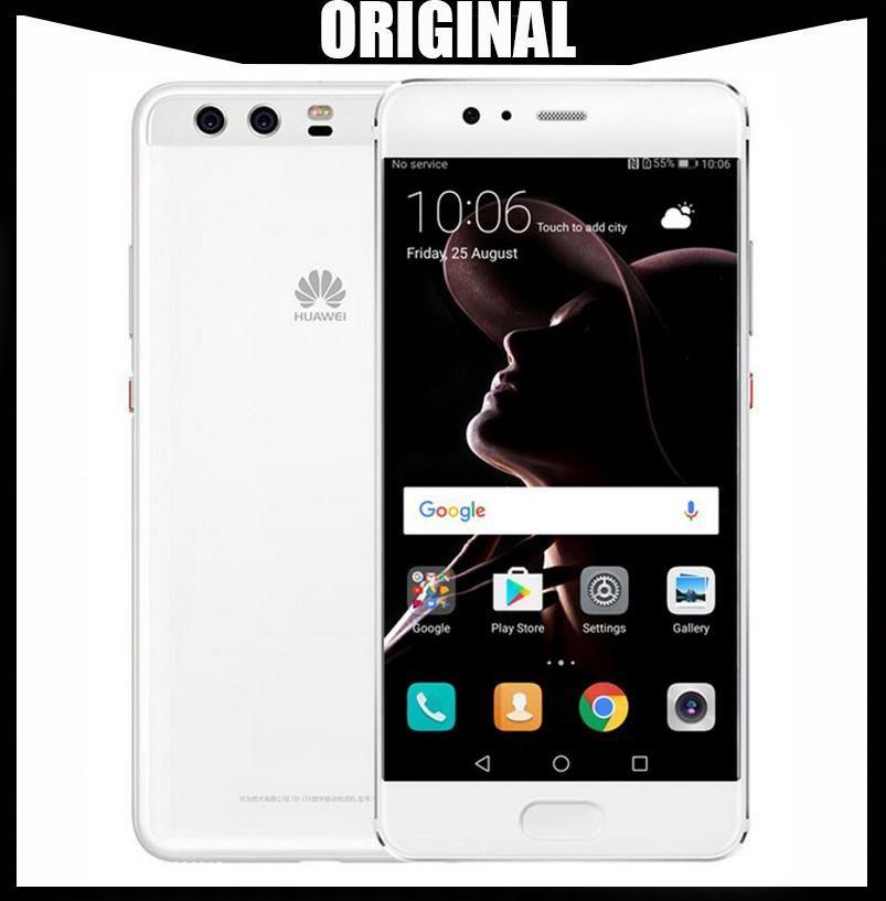 Wholesale Huawei P10 4GB RAM 64GB ROM Global Firmware Full LTE Band Mobile  Phone Octa Core 5 1 Dual Rear Camera 20 0MP 12 0MP NFC OTG OTA