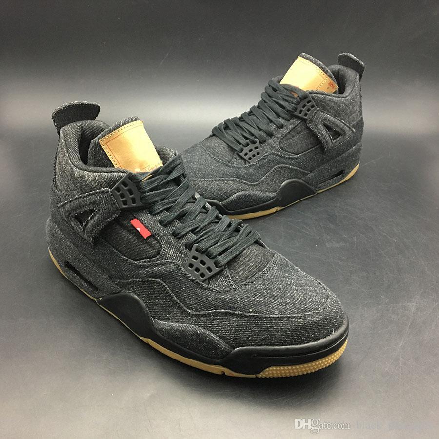 fe4b7d7c180e1 Acheter 2018 Hommes J4 IV 4 Chaussures De Basket Ball