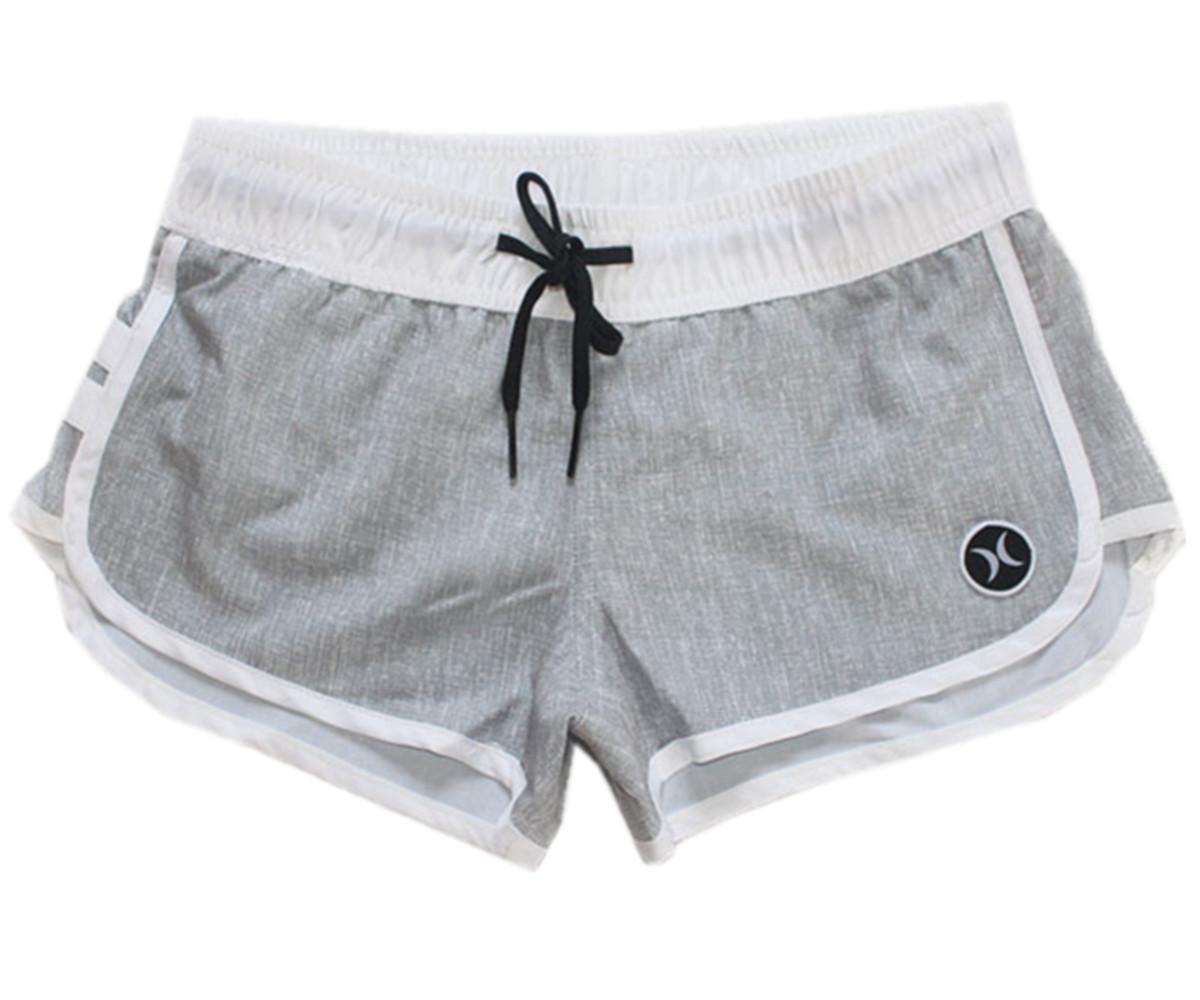 e3a6e55be4 2019 Brand New Spandex Fabric Womens Bermudas Shorts Board Shorts  Beachshorts Fashion Pants Quick Dry Surf Pants Swimwear Swim Trunks Swim  Pants From ...