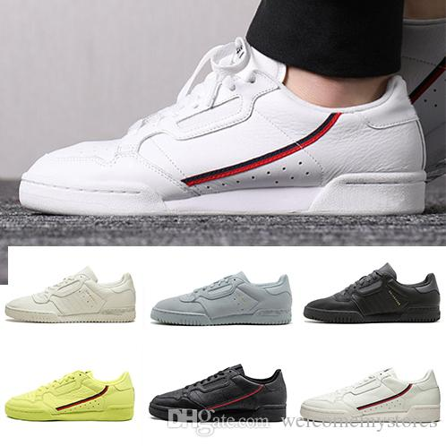3dbf842a36d 2019 2019 New Calabasas Powerphase Grey Continental 80 Casual Shoes ...