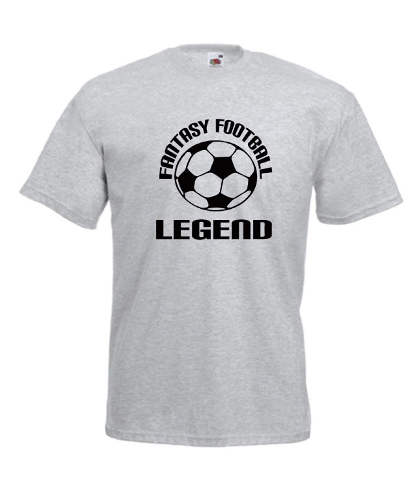 8d20d1671b5 FANTASY FOOTBALL Funny Sport Xmas Birthday Gift Idea Boys Girls Kids T SHIRT  TOP Short Sleeve Plus Size T Shirt Crazy T Shirt Sayings Tee Shirt Shop  Online ...