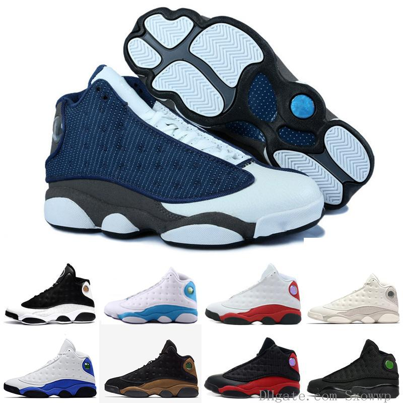 Best Quality Basketball Shoes Sneaker For Men 13s Black Phantom Bred He Got Game Fashion Mens Sports Sneakers Discount Zapatos Size Us 8-13