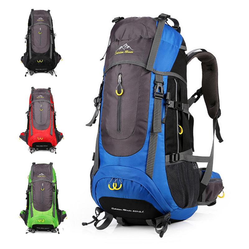 2018 New Mountaineering Backpack Men Outdoor Sports Wilderness Adventure  Survival Hiking Travel 70 L Waterproof Bicycle Bags Climbing Bags Cheap  Climbing ... f7e8cc2846
