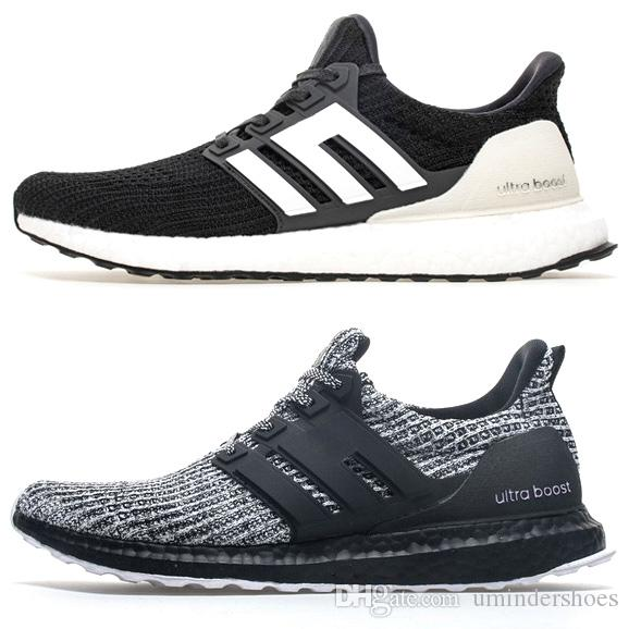 0f452c1c61227 2019 Latest UltraBOOST About Ultra Boosts 4 Shoes.Discount Ultraboost  Sneakers Triple Black White Grey Breast Cancer Awareness Mens Tennis Online  From ...