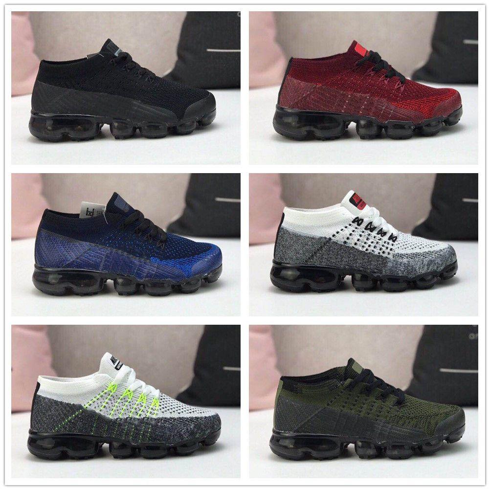 84c3230c593 Compre Nike Air Max Airmax Vapormax 2019 Nova Cor Air Cushion Crianças  Sapatos De Skate Meninos Meninas Sapatos De Corrida Crianças Sapatos Kid  Sports Tênis ...