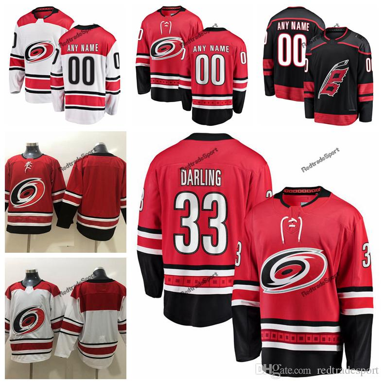 reputable site 0d7ac 584a5 2019 Mens Carolina Hurricanes Scott Darling Hockey Jerseys Cheap New Black  #33 Scott Darling Stitched Jerseys Customize Name