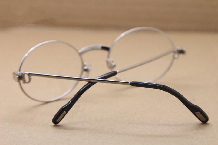 48dc1423b45 Luxury Brand 1168111CA Nobleman Glasses Frame Prescription Glasses High  Quality Metal Full Rim Accustomized Sunglasses Frame Full Set Case Extra  Large ...