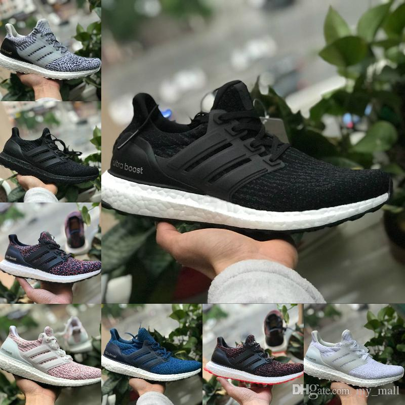 Sale 2019 Ultraboost 3.0 4.0 Sports Shoes Men Women High Quality Ultra Boost  4 III White Black Running Shoes Trainer Athletic Brand Sneakers UK 2019  From ... 3309ea172