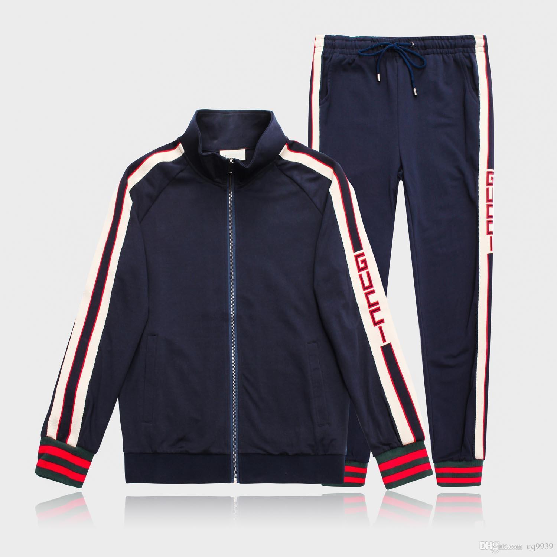 barato mejor valorado mejor lugar para brillante n color 2019 calidad de los hombres sudadera ropa deportiva diseño de moda ropa de  moda de los hombres ropa deportiva chaqueta deportiva traje de trotar