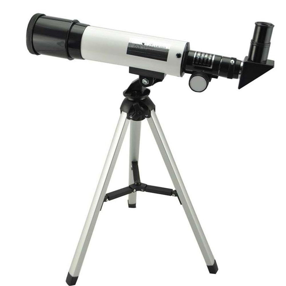 Refraction 360X50 Astronomical Telescope With Portable Tripod Sky Monocular Telescope Space Observation Scope Gift