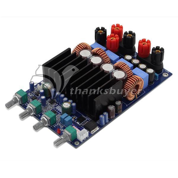 Freeshipping TAS5630 2 1 4ohm Class D Digital Amplifier Board 300W 150W  150W Free Shipping